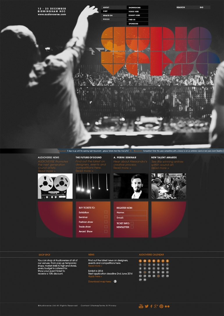 audioverse website copy