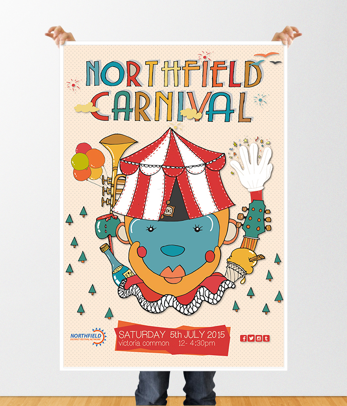 northfield poster mockup