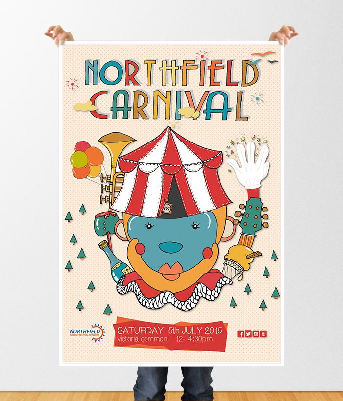 northfield poster mockup