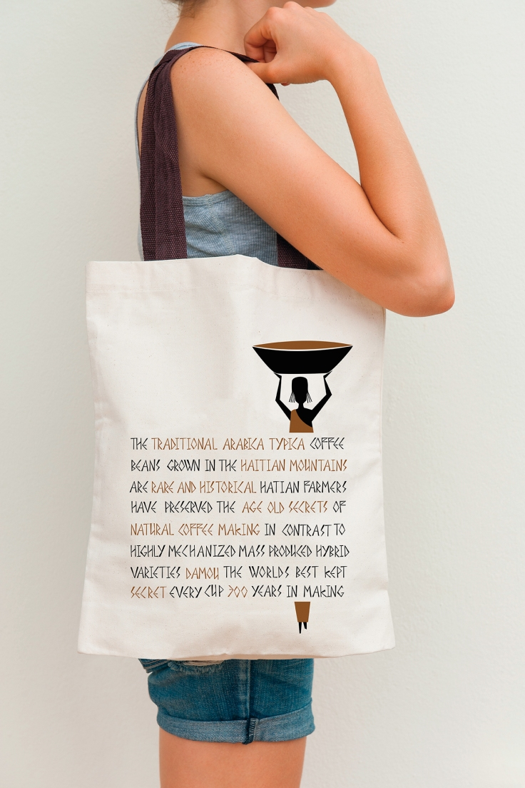Damou tote bag